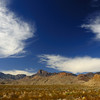 Chisos Mountains from Glenn Springs Townsite