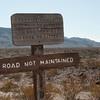 Warning Sign - Black Gap Road