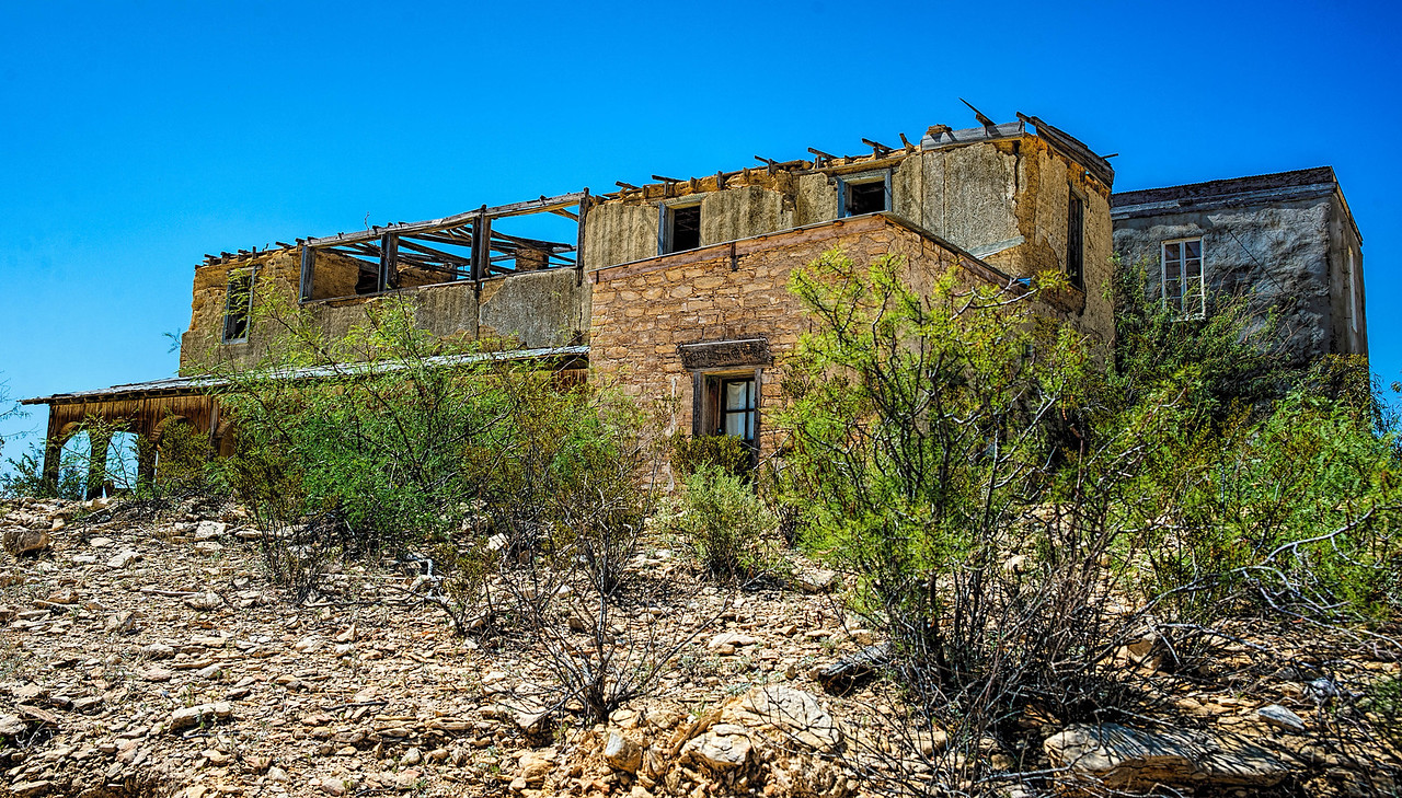 Perry Mansion, Terlingua