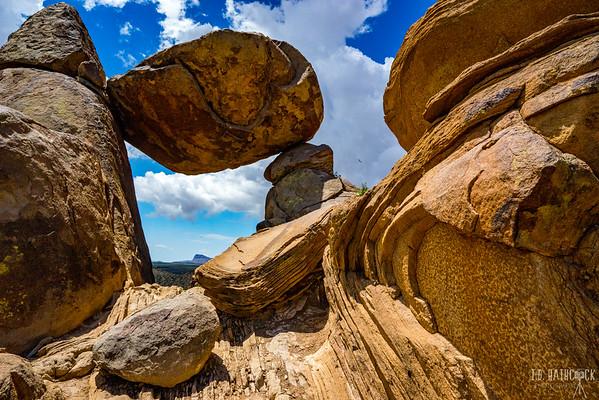 Balanced Rock. Big Bend National Park