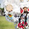 Big Chief Juan Pardo of the Golden Comanche Mardi Gras Indians, 2015