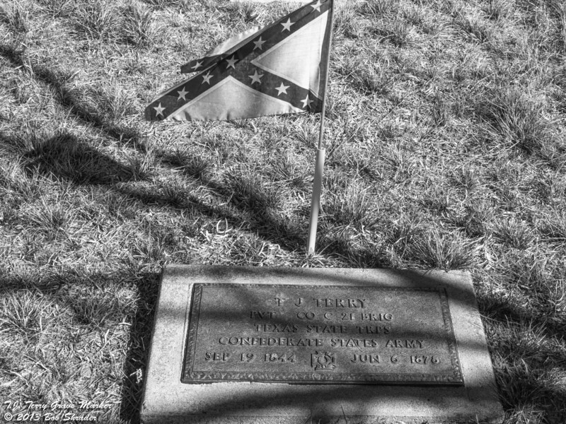 T.J. Terry Grave Marker