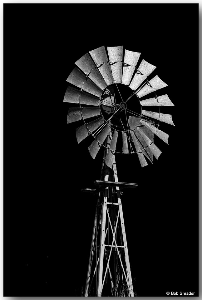 Windmill in Infrared