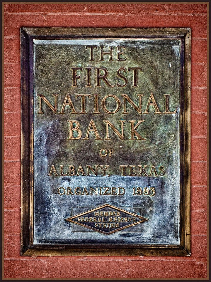 Historic Bank Sign