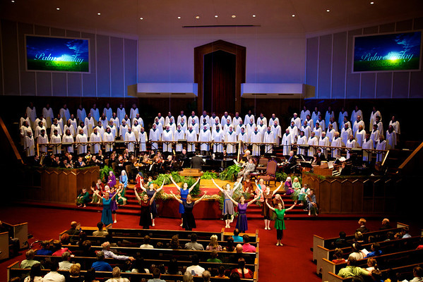 Palm Sunday Morning 2012