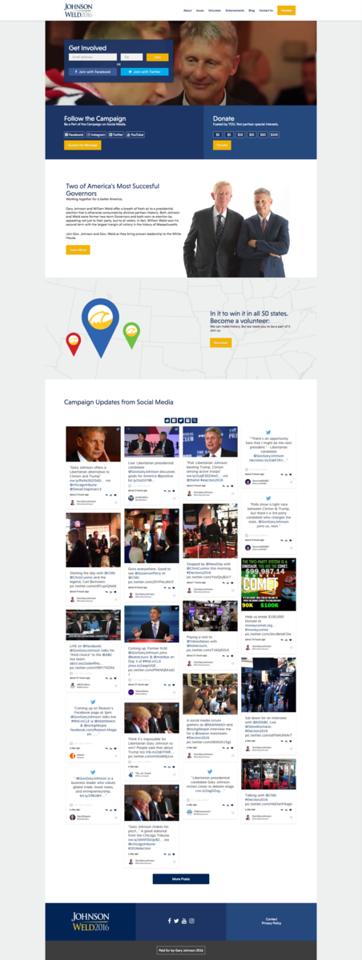 Gary Johnson for President 2016