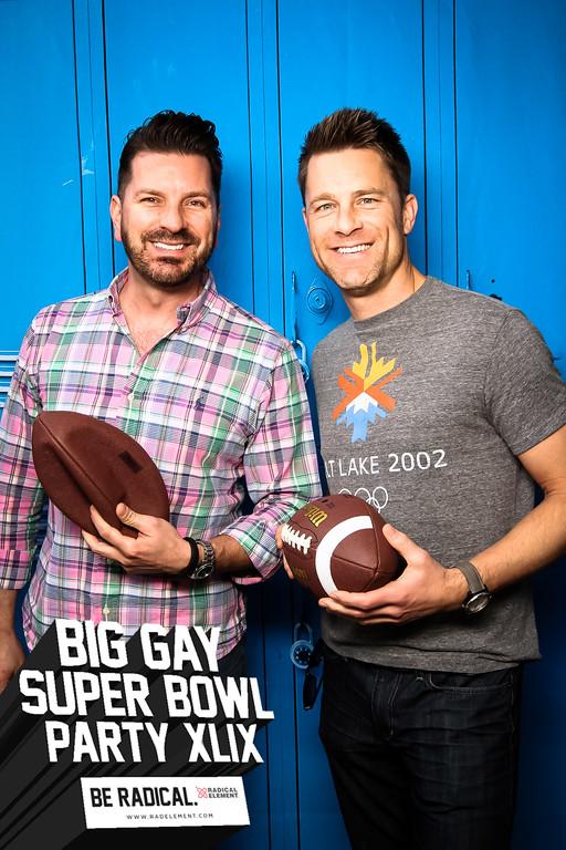 Big Gay Super Bowl Party XLIX