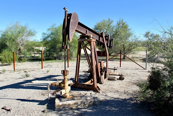 Water pump at Big Horn Station (2018)