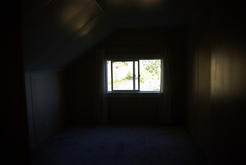 Upstairs bedroom - east side.