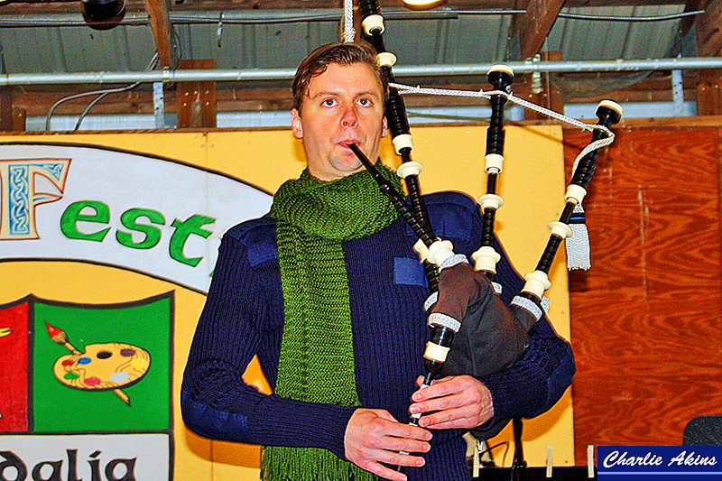 Excellent bagpipe music