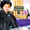 There was tarot card reading at the event.