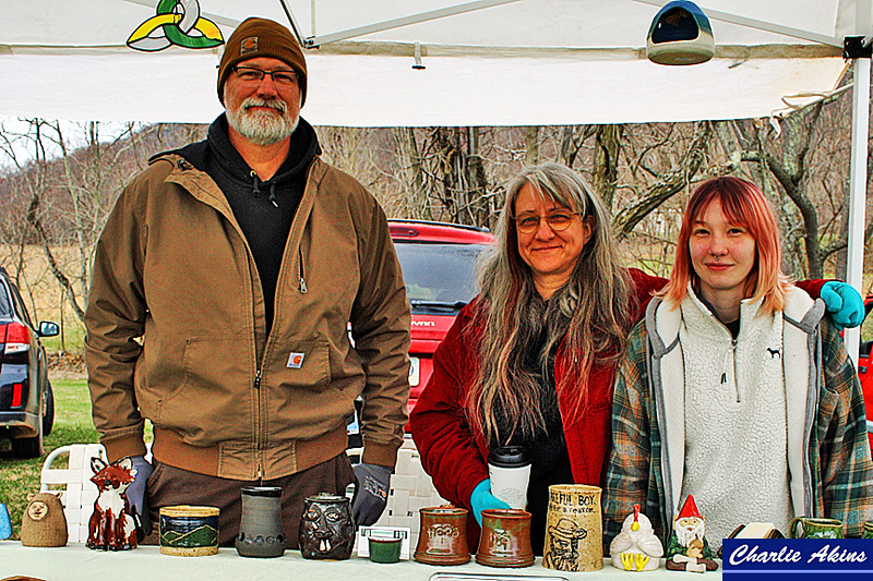 Creative pottery for sale at Winding Road Studio