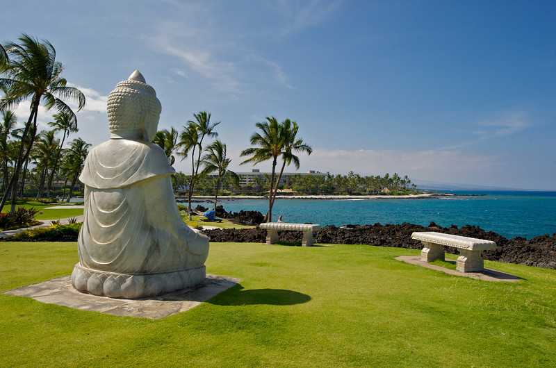 A serene day at Buddha Point. (Photo credit: Jerry Leggett, ©2011, All rights reserved)