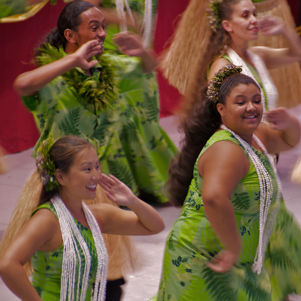 Hula Dancers entertain and inspire an audience at the Hawaii East County Music Festival in Hilo (Photo credit: Jerry Leggett, ©2010, All rights reserved)