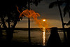 Lighted torch on Waiulua Bay  (Photo credit: Jerry Leggett, ©2010, All rights reserved)