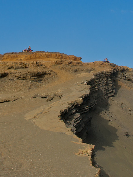 The cliffs above Green Sands Beach (Photo credit: Jerry Leggett, ©2011, All rights reserved)