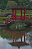 Red Pagoda at Queen Liliuokalani Gardens in Hilo (Photo credit: Jerry Leggettl, ©2009, All rights reserved)