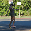 Skateboarding on a sunny day in Queen Liliuokalani Gardens in Hilo (Photo credit: Jerry Leggett, ©2009, All rights reserved)