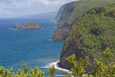 Pololu Lookout in the north passed Hawi