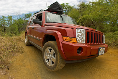 Coming back from South Point´s Ka`alu`alu Bay...definitly need a 4 wheel drive
