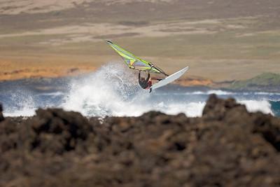 The spot - South Point - Ka`alu`alu Bay...aerial