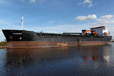 The Clydenes on her return trip on the Manchester Ship Canal