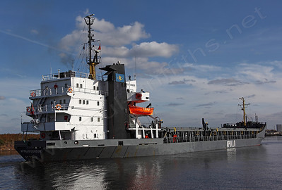 Apollo Condor on the Manchester Ship Canal