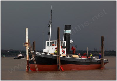 Built in 1913 the Kerne will soon be celebrating her centenary.