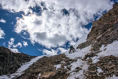 Champaigne Couloir, Mt Nebo