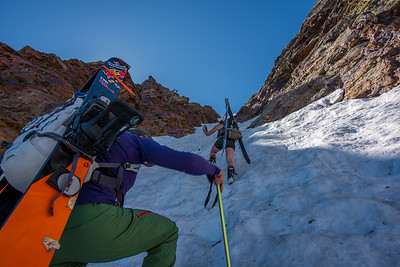 Sunrise Couloir