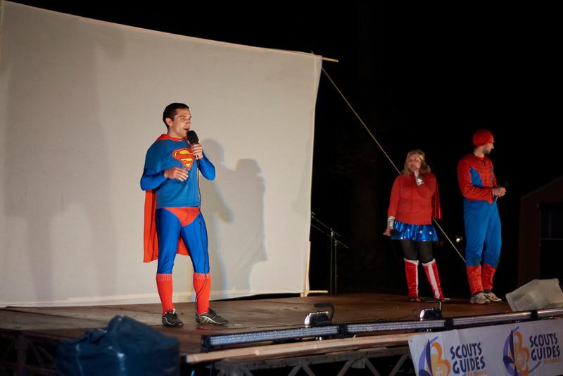 Superman à la veillée Haudéo