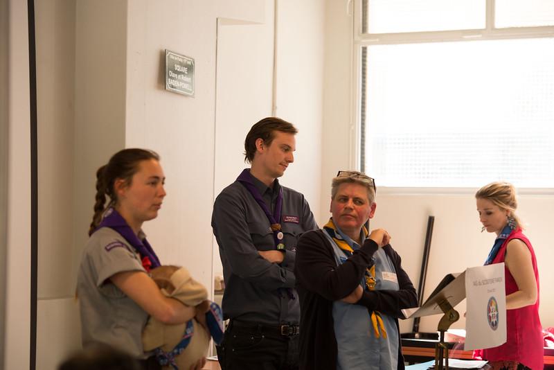 OMMS et AMGE sont présents à l'AG du Scoutisme Français.