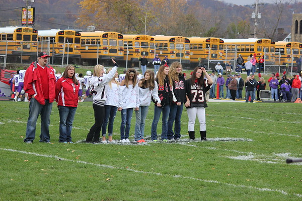Ferry Game - Girls' CC honored 2013