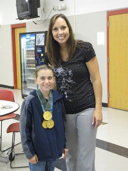 Leah O'Brien Amico Visit 10.6.2010