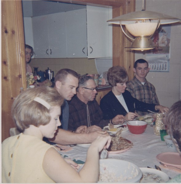 1966 Bev, Evelyn, Don, Leonard, Donna, Ron