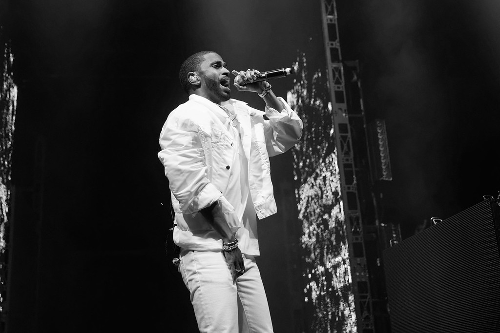 . Big Sean live at The Fox Theatre  in Detroit, Michigan on 4/01/2017.  Photo credit: Ken Settle