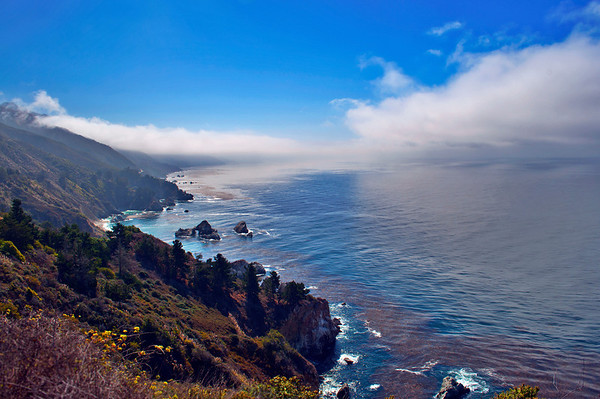 Big Sur Foggy Coast