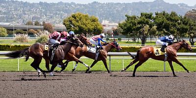 Golden Gate Fields:  April, 2012