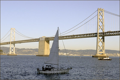 """""""Bay Bridge #1 """" Taken at the Embarcadero in the late afternoon"""