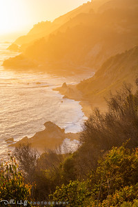Honeyed Light, Julia Pfeiffer Burns State Park, Big Sur, California