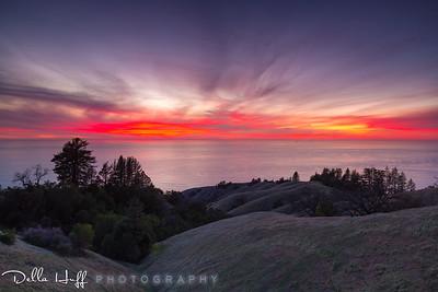 Sky Afire, Big Sur, California