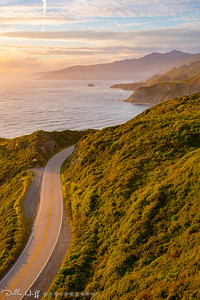 Golden Highway, Highway One, Big Sur, California