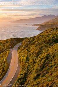 Golden Highway, Highway One, Big Sur, California