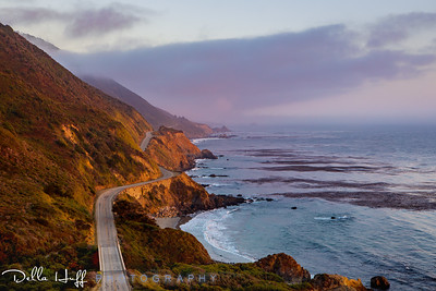 Curves Ahead, Big Sur, California