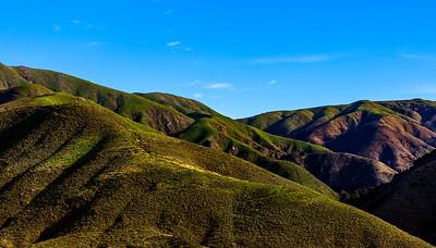 Big Sur Hills in daytime