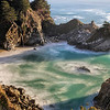 McWay Falls Cove Close-up