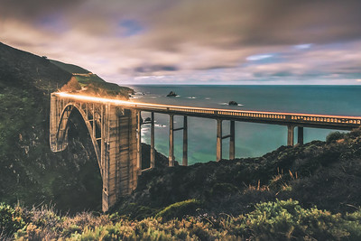 Bixby Night (Big Sur CA)