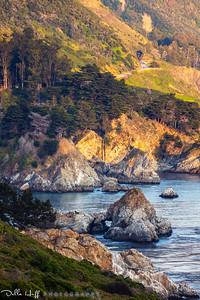Hidden Falls, Big Sur, California