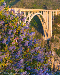 Lavender Bridge, Bixby Bridge, Big Sur, California