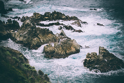 Waves Crashing (Big Sur CA)